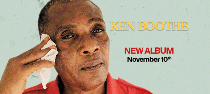 Ken Boothe has released a new album