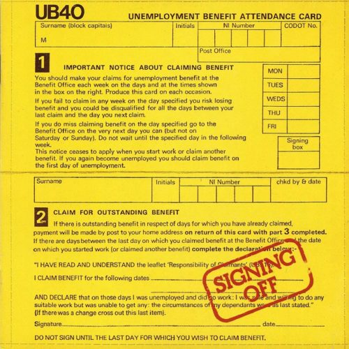 "The creation of UB40's "" Signing Off"" album – by Dadaman"