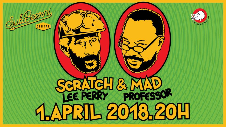 Lee Scratch Perry & Mad Professor LIVE / Beograd