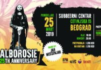Alborosie – 25th Anniversary – Belgrade, Serbia 25 March 2019