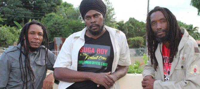 "Meet Suga Roy & The Fireball Crew and their latest album ""Honoring the Kings of Reggae"" (Reggaewerx PR)"