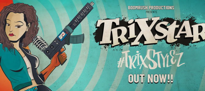 TrixStylez new album by TriXstar (Boomrush Productions)